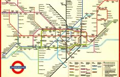 London Underground Map And Printable – Capitalsource – Printable Underground Map