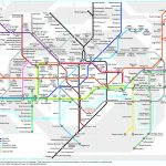 London Underground Map Translated Into German   Londoner U Bahn Plan   London Metro Map Printable
