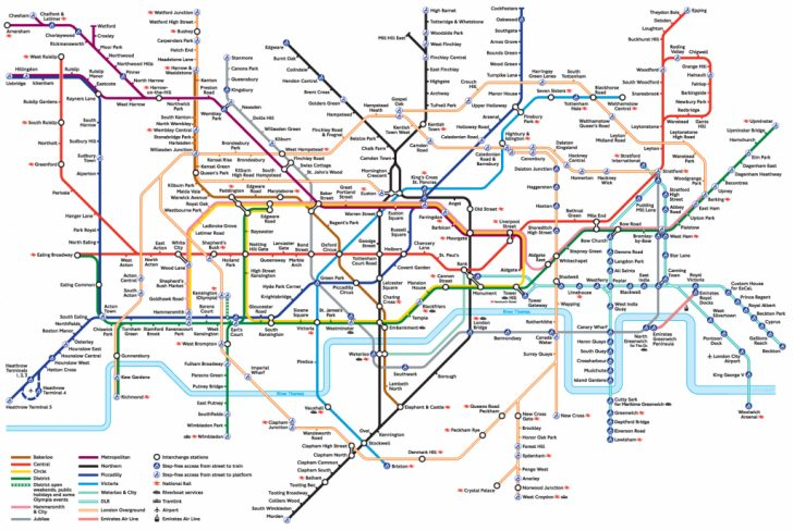Printable London Tube Map 2010
