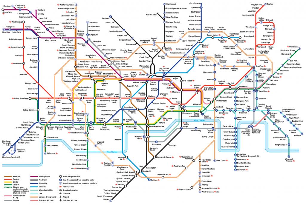 London Underground   Yolondon   London Tube Map, London Underground - Printable London Tube Map 2010
