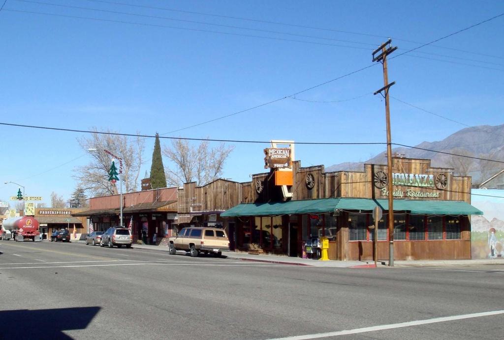 Lone Pine, California - Wikipedia - Lone Pine California Map