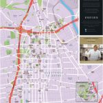 Los Angeles Downtown Tourist Map   Map Of Los Angeles California Attractions