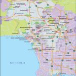 Los Angeles Map, Map Of Los Angeles City, California, La Map   Map Of Los Angeles California Attractions