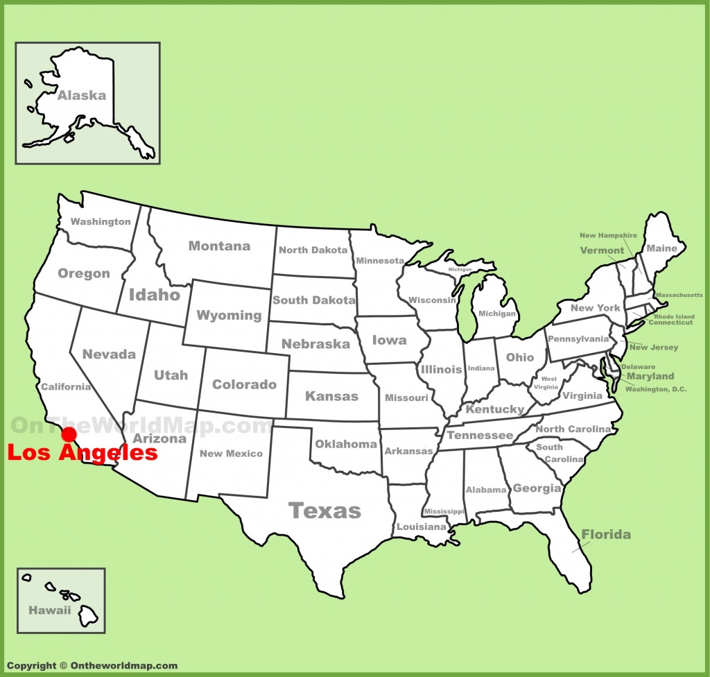 Los Angeles Maps   California, U.s.   Maps Of L.a. (Los Angeles) - Map Of Los Angeles California Area