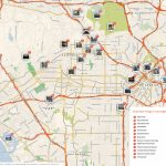 Los Angeles Printable Tourist Map | Sygic Travel   San Diego Attractions Map Printable