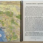 Lost Treasures Of California – Map And Guide – California Map Book