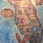 Love This Map Of The Florida Native American Tribes Seen At The   Native American Tribes In Florida Map