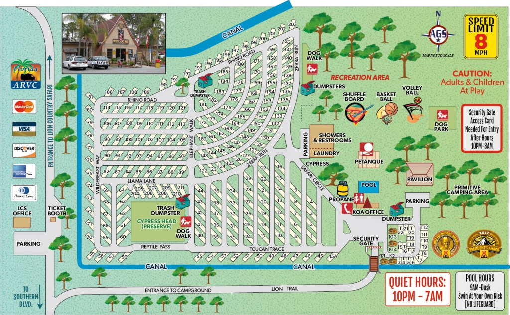 Loxahatchee, Florida Campground | West Palm Beach / Lion Country - Florida Rv Camping Map