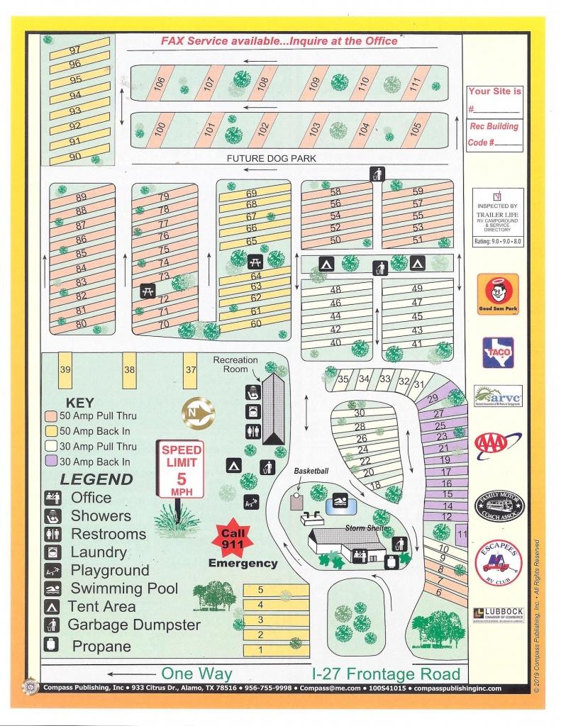 Lubbock Rv Park Inc. | Photo Gallery - South Texas Rv Parks Map