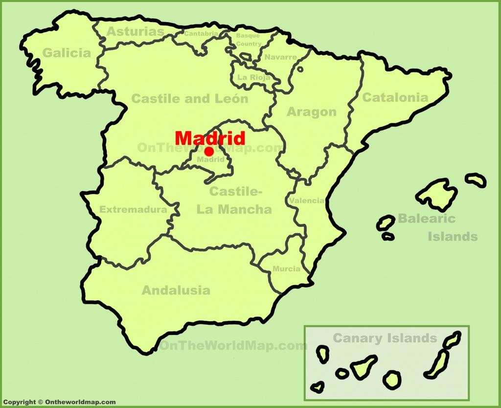 Madrid Maps   Spain   Maps Of Madrid City - Madrid City Map Printable