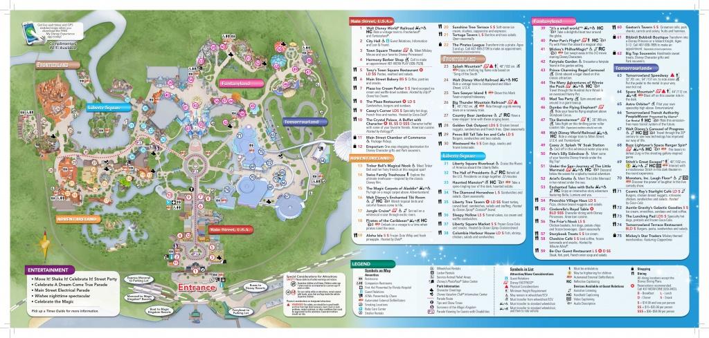 Magic-Kingdom-Map-2   Dis Blog - Disney Florida Maps 2018
