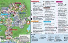 Printable Magic Kingdom Map