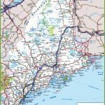 Maine Road Map   Printable Road Map Of Maine
