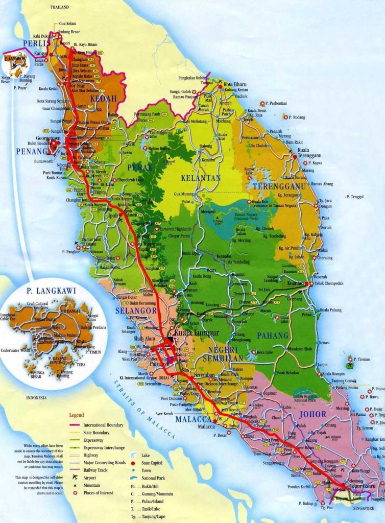 Malaysia Maps   Printable Maps Of Malaysia For Download - Printable Map Of Malaysia
