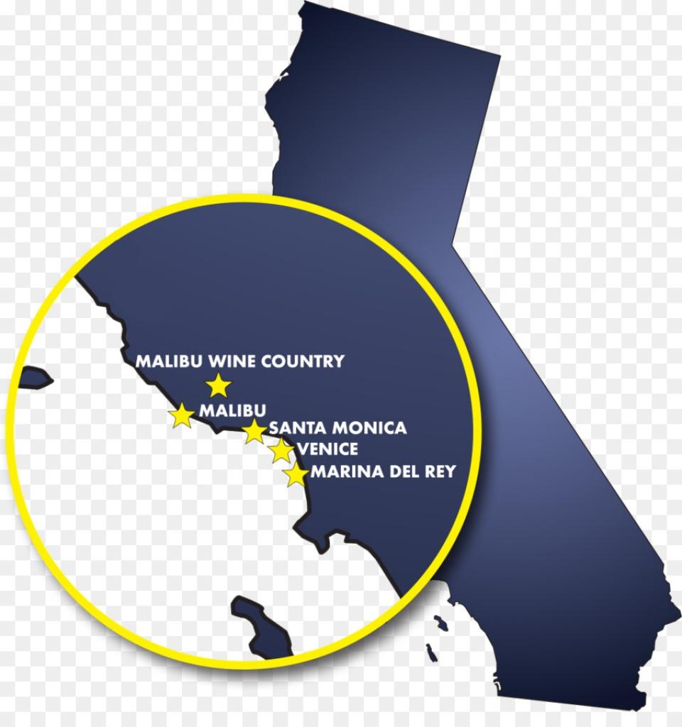 Malibou Lake, California Map Malibu Discovery Napa Malibu Wine - Malibu California Map