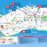Manhattan Attractions Map And Travel Information | Download Free   Manhattan Sightseeing Map Printable