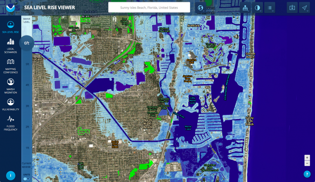 Many Trump Properties Could Be Underwater Due To Rising Sea Levels - California Sea Level Rise Map