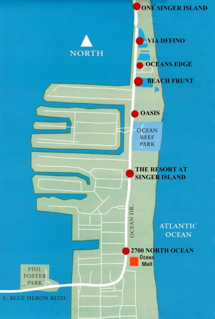 Map | Dermot Obrien Realty Sells Singer Island! - Singer Island Florida Map