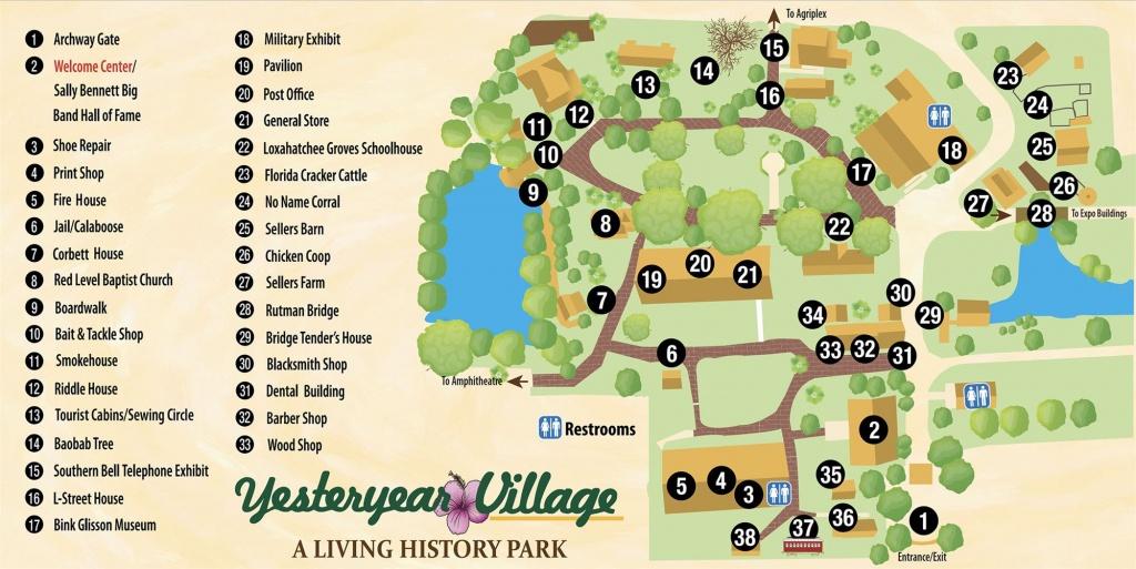 Map & Directions - Florida State Fairgrounds Map