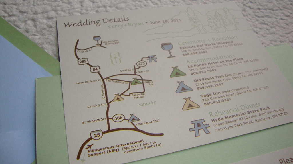 Map For Wedding Invitation ~ Wedding Invitation Collection - Free Printable Wedding Maps