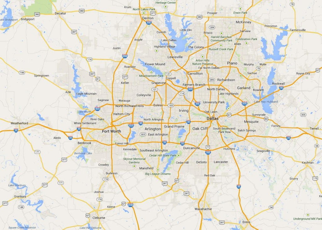 Map Fort Worth - Map Of Fort Worth (Texas - Usa) - Map Of Fort Worth Texas Area