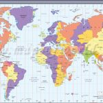 Map In Large Print Of The World Inpinks | Free Printable World Time   World Time Zone Map Printable Free