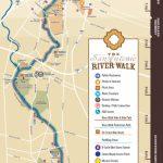 Map   Map Of Hotels Near Riverwalk In San Antonio Texas