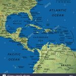 Map Maps Usa Florida Canada Mexico Caribbean Cuba South America   Mexico Florida Map