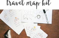 Map My Trip For Kids | Free Printables And Templates | My Travel Map – Printable Road Trip Maps