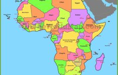 Printable Map Of Africa With Countries