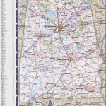 Map Of Alabama With Cities And Towns   Printable Alabama Road Map