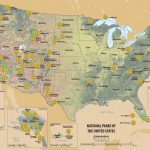 Map Of All Us National Parks National Parks Inspirational Beautiful   Printable Map Of National Parks
