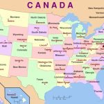 Map Of America States And Capital Cities | Download Them And Print   Printable Us Map With States And Capitals