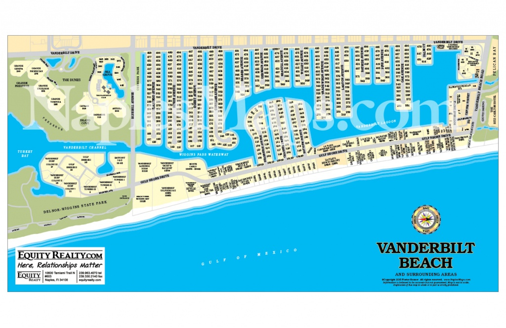 Map Of Beaches In Naples Florida | Download Them And Print - Vanderbilt Beach Florida Map