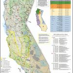 Map Of California Hunting Zones   Download Them And Print   Deer Hunting Zones In California Maps