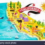 Map Of California Major Attractions – Map Of Usa District   Map Of Los Angeles California Attractions