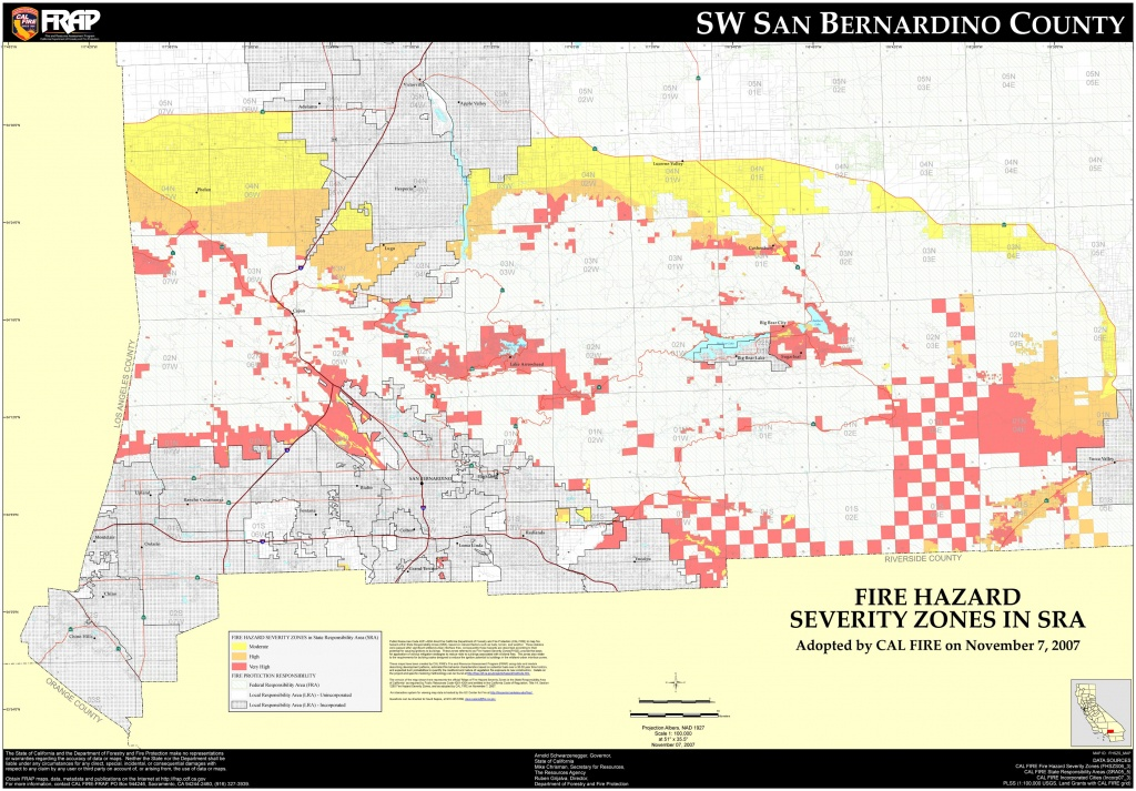 Map Of California Showing San Bernardino And Travel Information - Map Of San Bernardino County California