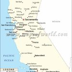 Map Of California With Cities Listed | Download Them And Print   California Cities Map List