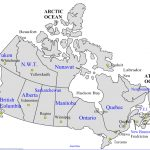 Map Of Canada With Provinces Territories And Capital Cities Map   Printable Map Of Canada With Cities