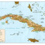 Map Of Cuba   Printable Map Of Cuba