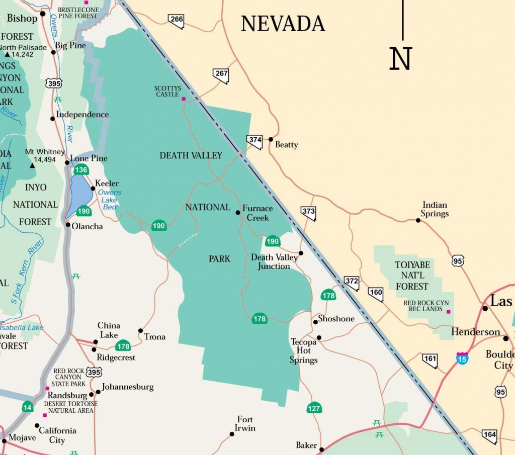 Map Of Death Valley Ca Nd | D1Softball - Death Valley California Map