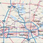 Map Of Dfw Metroplex   Map Dfw Metroplex (Texas   Usa)   Printable Map Of Fort Worth Texas