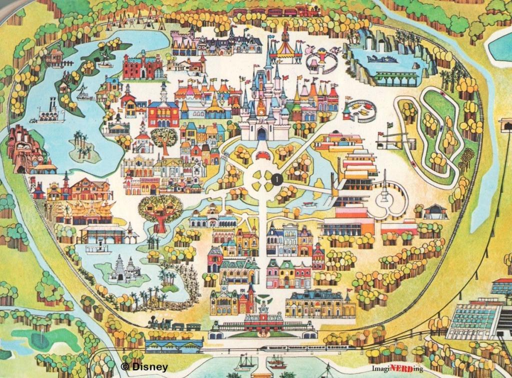 Map Of Disney World 9 - World Wide Maps - Maps Of Disney World Printable