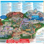 Map Of Disneyland And California Adventure Park Map Of Disney   California Adventure Map