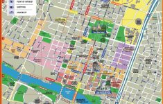 Austin Texas Map Downtown