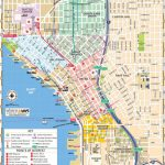 Map Of Downtown Seattle: Interactive And Printable Maps | Wheretraveler   Printable Map Of Seattle