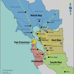 Map Of East Bay Area California | Secretmuseum   San Bruno California Map