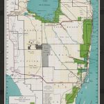 Map Of Everglades Section Of Florida   Touchton Map Library   Florida Section Map