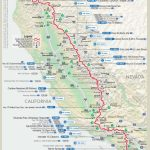 Map Of First Half Of Pct | Dean's Pacific Crest Trail Hike   Pct Map California