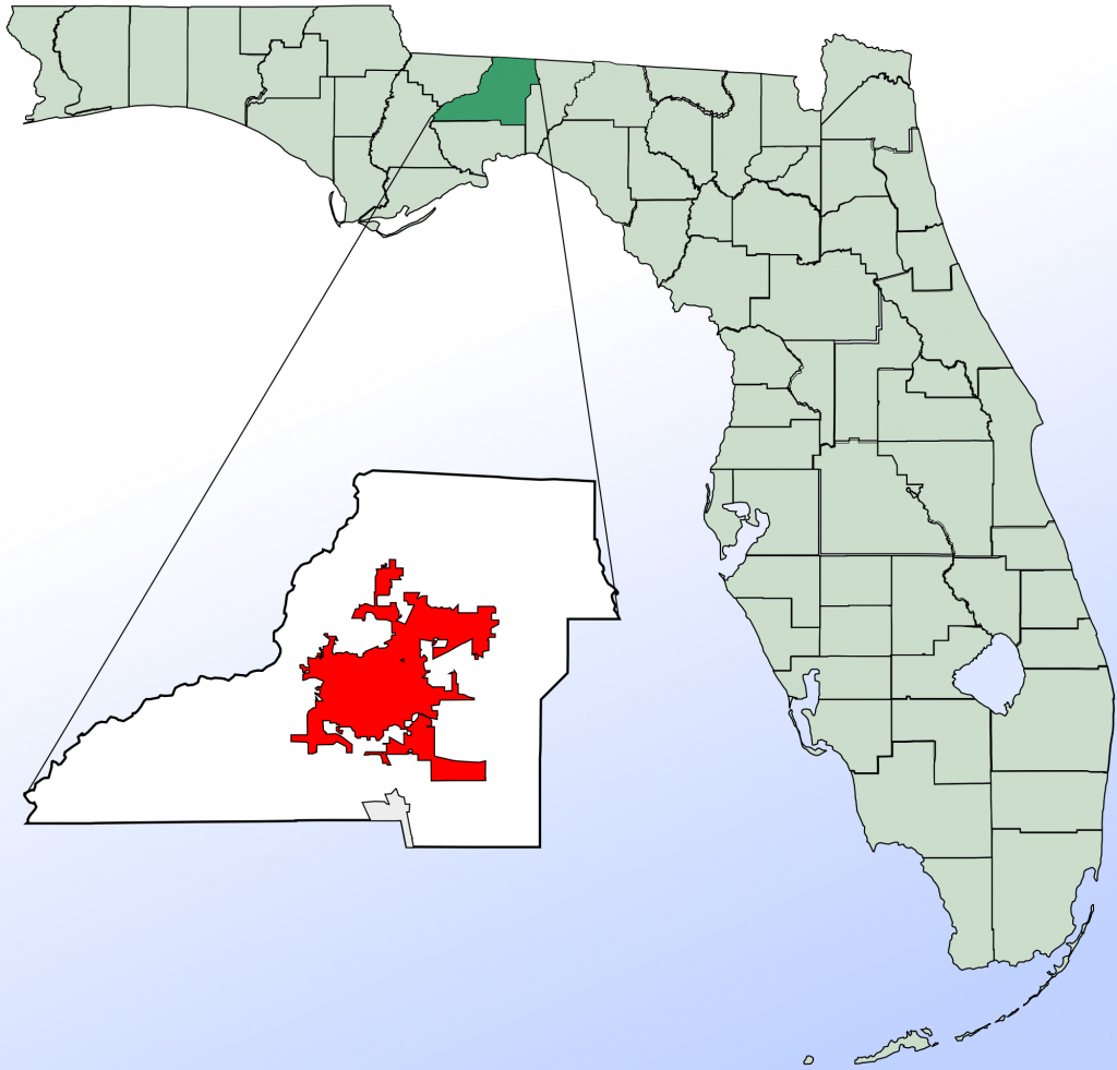 Map Of Fl Showing Tallahassee   Download Them And Print - Tallahassee On The Map Of Florida